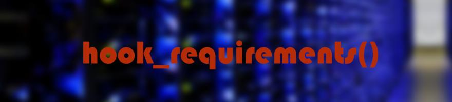 Как оформить requirements для сторонних библиотек